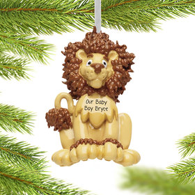 Personalized Lion Baby