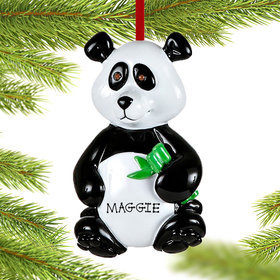 Personalized Panda Bear