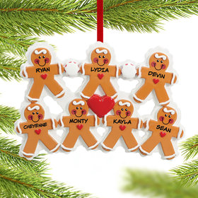 Personalized Gingerbread Family 7