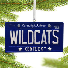Personalized Kentucky Wildcats License Plate