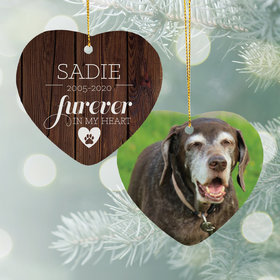 Personalized Furever in My Heart - Dog