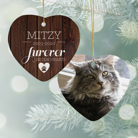 Personalized Furever in Our Hearts - Cat