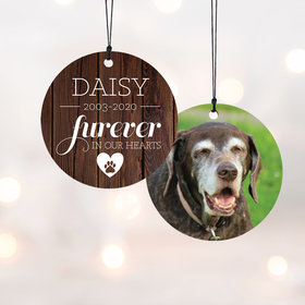 Personalized Furever in Our Hearts - Dog