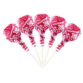 Strawberry Dum Dums Red Party Pops
