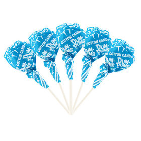 Cotton Candy Dum Dums Ocean Blue Party Pops