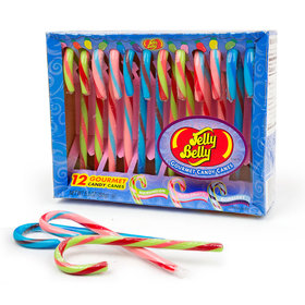 Jelly Belly flavored Candy Canes (12ct)