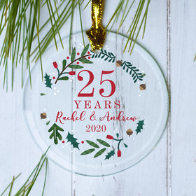Personalized Anniversary Wreath