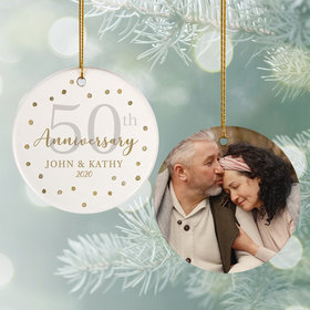 Personalized 50th Anniversary Photo