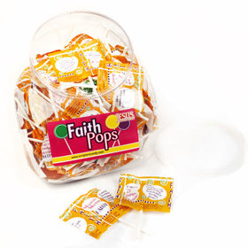 Faith Pops Lollipops - Scripture Candy