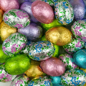 Milk Chocolate Foiled Easter Eggs