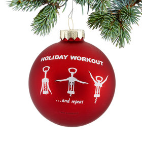 Personalized Holiday Wine Workout