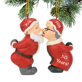 Personalized Kissing Claus'