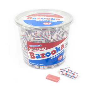 Original Bazooka Bubble Gum (225ct Tub)