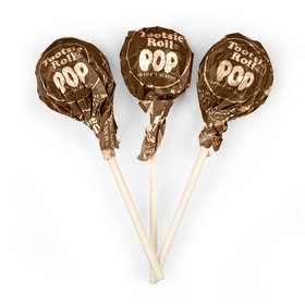 Chocolate Tootsie Roll Pops