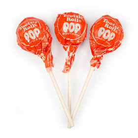 Orange Tootsie Roll Pops