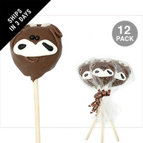 Cow Double Chocolate Cake Pops (12 Pack)
