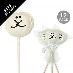 Lamb Double Chocolate Cake Pops (12 Pack)