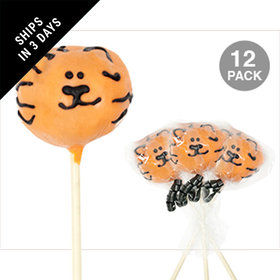 Tiger Double Chocolate Cake Pops (12 Pack)