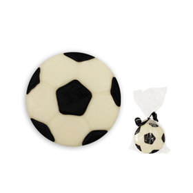 Soccer Ball White Chocolate Covered OREO Cookies (12 Pack)