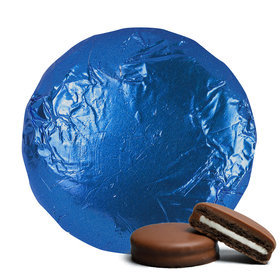 Belgian Chocolate Covered Oreo Cookies Royal Blue