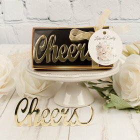 Personalized Wedding Cheers Bottle Opener