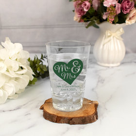 Personalized Wedding 12oz Hard Plastic Cup