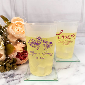 Personalized Wedding 20oz Shatterproof Cup