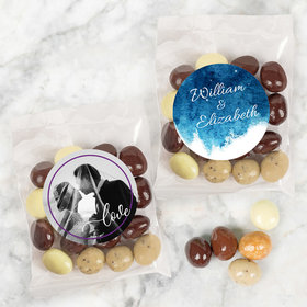 Personalized Wedding Candy Bags with Premium Gourmet New York Espresso Beans