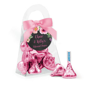 Personalized Rehearsal Dinner Favor Assembled Purse Filled with Hershey's Kisses