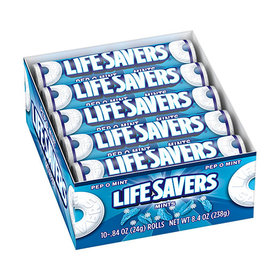 Lifesavers Pep-o-mint Rolls 20ct